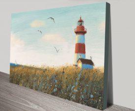 Seaside View Pretty James Wiens Wall Art