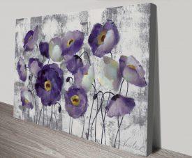Abstract Poppies Silvia Vassileva Canvas Art