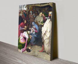 Adoration of the Kings Bruegel Classic Art Print