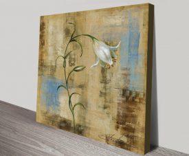 Buy Graceful Flower Wall Art by Silvia Vassileva