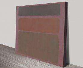 Number Sixteen Russet Tones Abstract Art
