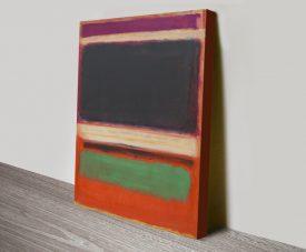 No.3 Abstract Mark Rothko Wall Art