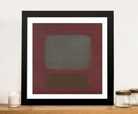 No.37 Framed Mark Rothko Modern Art Print