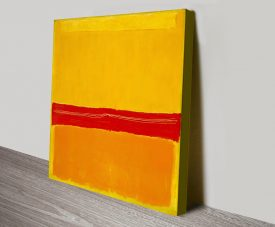 Mark Rothko No.5 Stretched Canvas Print