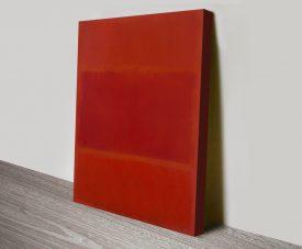 Red & Orange Abstract Mark Rothko Artwork