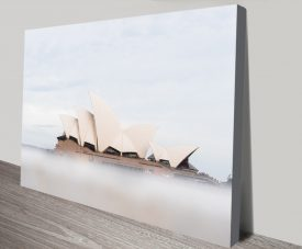 Misty Opera Affordable Canvas Wall Art