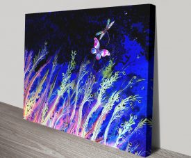 Moonlight Breeze Enchanting Canvas Art