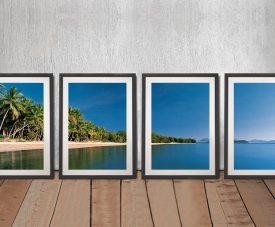 Port Douglas Framed Peter Lik 4-Panel Art Set