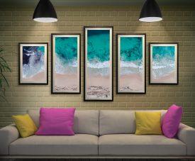 Sovereign Waves Matt Day 5-Panel Wall Art