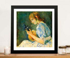 The Mandolin Framed Classic Print on Canvas