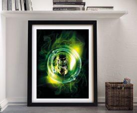 Framed Alien Resurrection Movie Poster