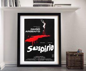 Suspiria Classic Horror Movie Poster Artwork