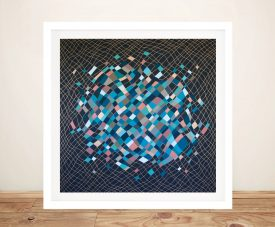 Come Undone Framed Abstract Wall Art