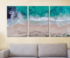 Sovereign Waves Triptych Matt Day Art