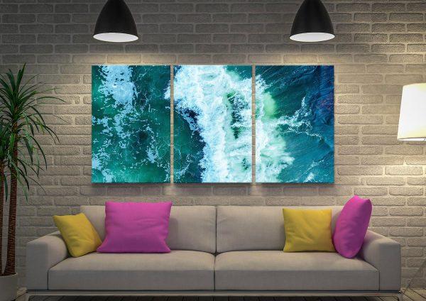 Surf Break Australian Seascapes Wall Art AU