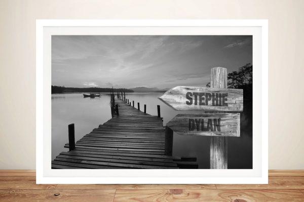 Framed Customised Seascape Art for Sale AU