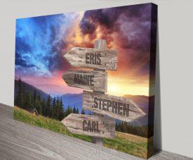 Buy a Beautiful Mountain Sunrise Custom Print