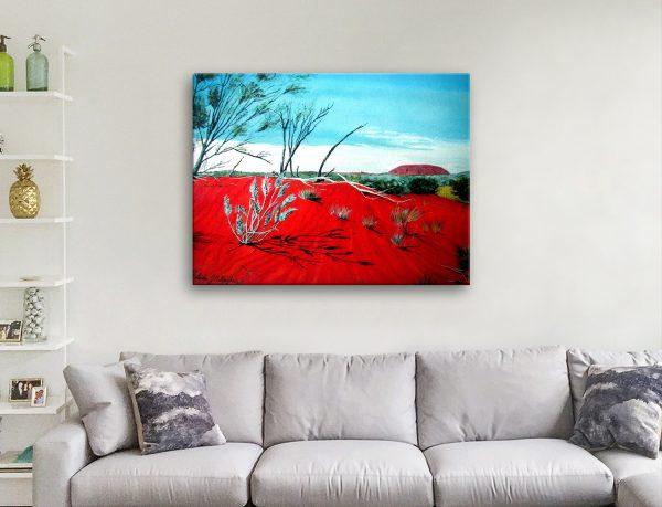 Uluru Ready to Hang Australian Landscape Art
