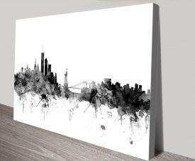 New York Skyline Michael Tompsett Artwork