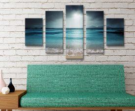 Moody Shores Split Diamond Seascape Set
