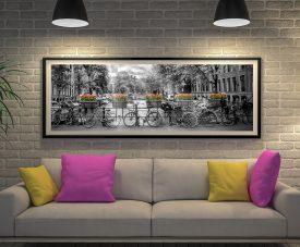 Gentlemen's Canal Framed Melanie Viola Art