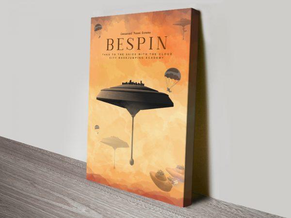 Bespin Star Wars Advertising Poster Print