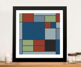 Composition C Piet Mondrian Framed Print