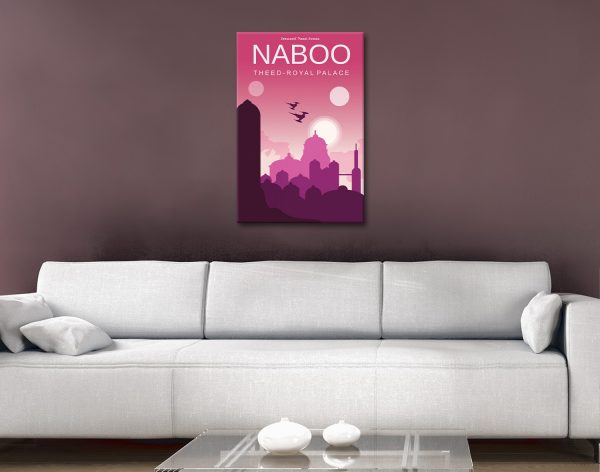 Naboo Star Wars Art Great Gifts for Guys AU