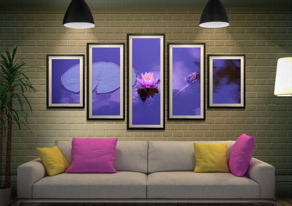 Framed Spiritual Art Relaxing Wall Art AU