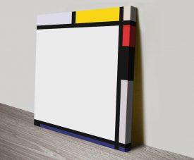 Tableau Vll Piet Mondrian Abstract Art