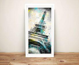City Art PARIS Eiffel Tower IV Framed Print