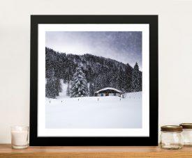 Framed Bavarian Winters Tale Vll Wall Art