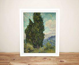 Cypresses Van Gogh Classic Landscape Art