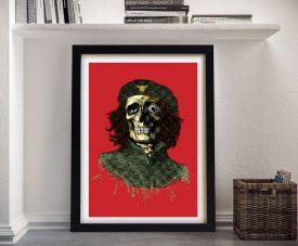 Cliche Framed Graffiti Print by D*Face