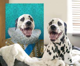 King of France Regal Custom Pet Portraits