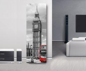 London Elizabeth Tower Panoramic Wall Art