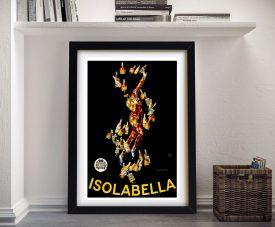 Framed Leonette Cappiello Vintage Poster Print