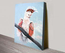 Buy a Major Mitchell Cockatoo Canvas Print