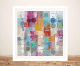 Summer Rain Framed Silvia Vassileva Wall Art