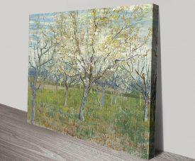 The Pink Orchard Van Gogh Landscape Art