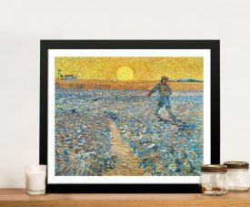 Buy The Sower Framed Van Gogh Wall Art