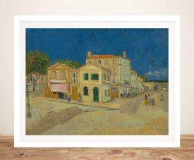 The Yellow House Framed Van Gogh Print