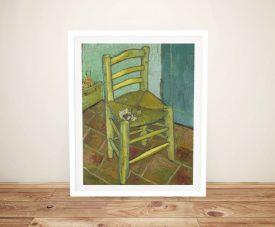 Buy a Framed Print of Van Gogh's Chair