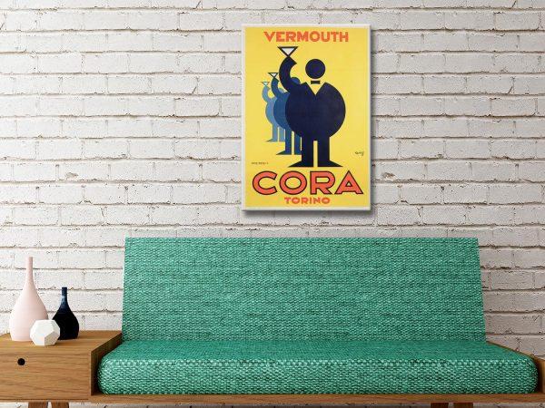 Vintage Advertising Posters Unique Home Decor