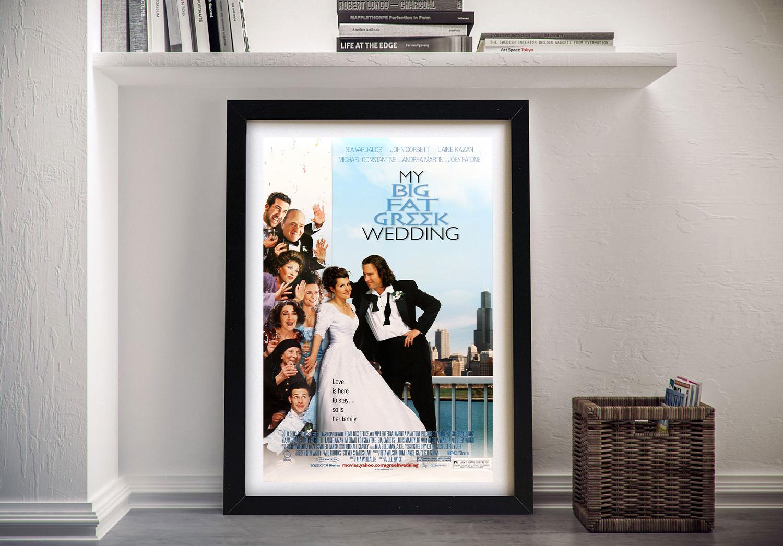 My Big Fat Greek Wedding Framed Movie Poster Home Decor Ideas Au