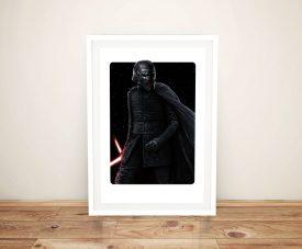 Kylo Ren Star Wars Print on Canvas