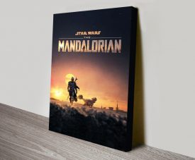 Buy The Mandalorian Canvas Posters Online