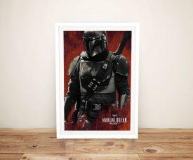 The Mandalorian Framed Star Wars Artwork