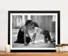 Dirty Dancing Black & White Movie Still Print
