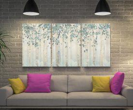 Dream Forest James Wiens Triptych Artwork